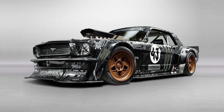 Lewis Hamilton quería comprar el Ford Mustang Hoonicorn de Ken Block