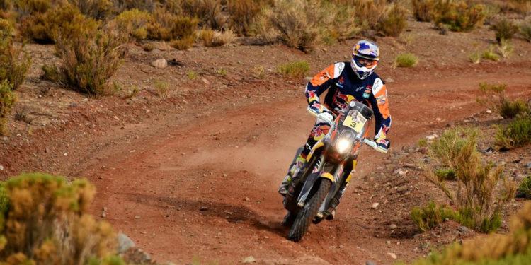 "Dakar 2016 | Toby Price: ""Ha habido alguna trampa de navegación pero he salido airoso"""