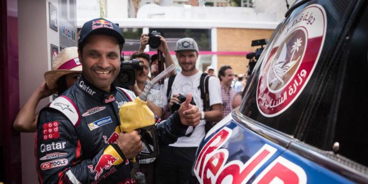 """Al-Attiyah resignado: """"Por desgracia no se puede hacer nada contra los Peugeot"""""""