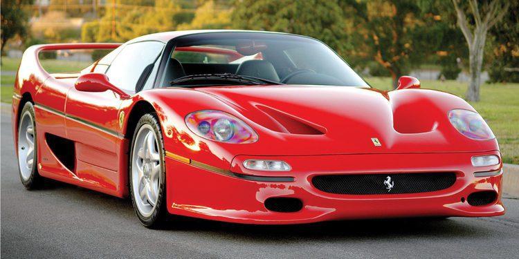 Gooding and Company subasta uno de los Ferrari F50 más especiales