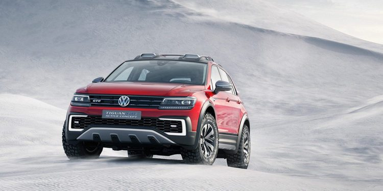 Volkswagen presenta el nuevo Tiguan GTE Active Concept en Detroit