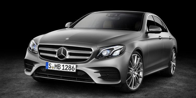 Mercedes Benz presenta su nuevo Clase E en Detroit