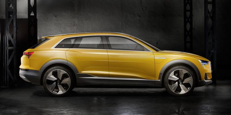 Cero emisiones para el Audi h-tron quattro concept