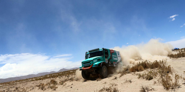 Dakar 2016 | Camiones: De Rooy, de principio a fin