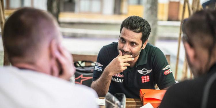 """Nasser Al-Attiyah: """"Los Peugeot son muy rápidos en la arena"""""""