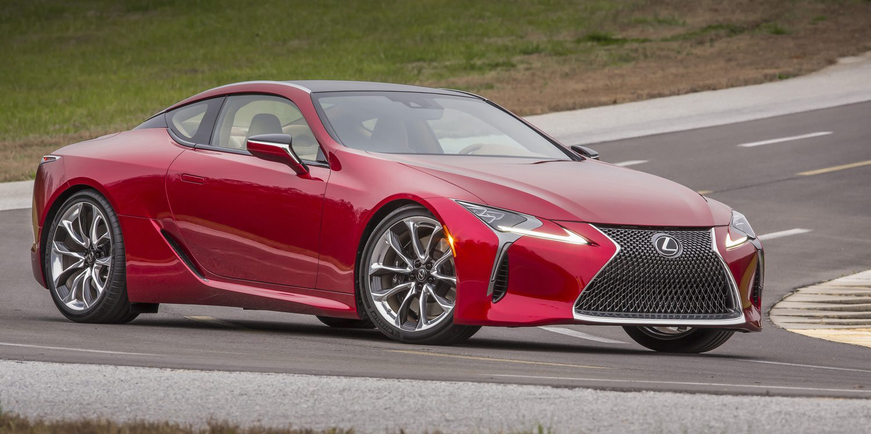 Lexus presenta el magnífico LC 500, calcomanía del Concept LF-LC