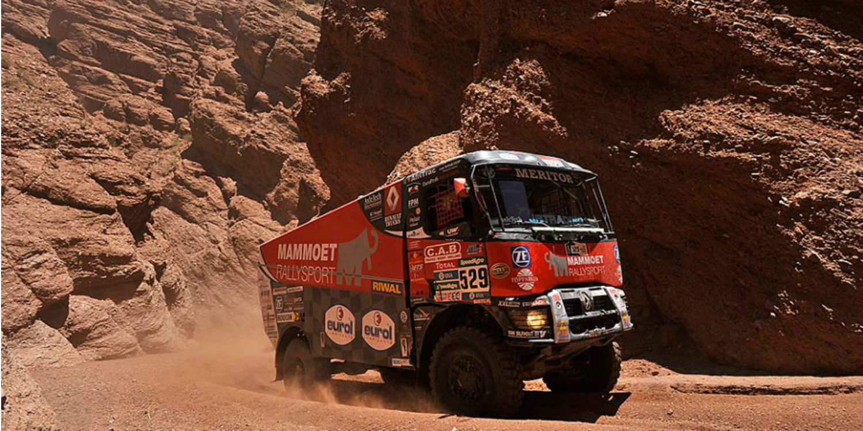 Dakar 2016 | Camiones: De Vaar se cuela en la fiesta de De Rooy