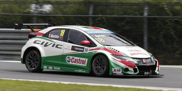 Huff, Monteiro y Michelisz serán los pilotos de Honda en 2016