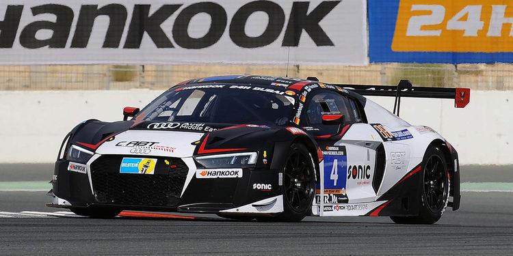 Los Audi copan la primera línea en Dubai