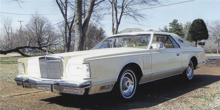 Lincoln Continental Mark V coupe de 1978, superlativo