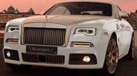 Oro para el Rolls Royce Wraith de Mansory