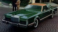 Los datos del Lincoln Continental Mark V, coupe Full Size de lujo