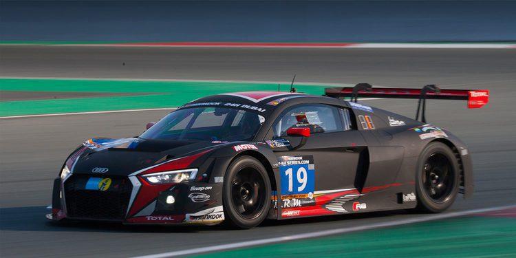 Audi vence en las 24 horas de Dubai 2016