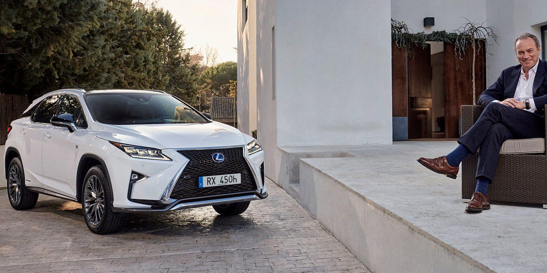Bertin Osborne se convierte en la nueva imagen de Lexus en 2016