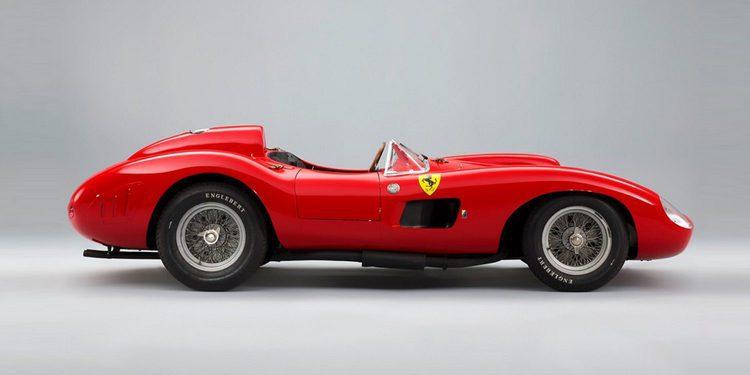 Un Ferrari 335 S Sport Scaglietti podría batir todos los récords en febrero