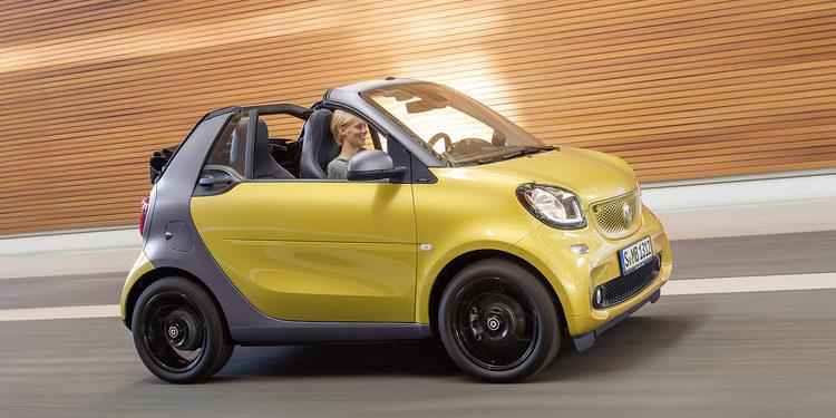 Smart fortwo cabrio: tecnológicamente avanzado