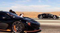 Mclaren P1 Vs Bugatti Veyron: La bella contra la bestia