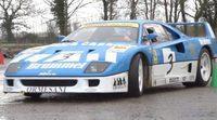 Vuelve TaxTheRich100 a la carga con un raro Ferrari F40 GT