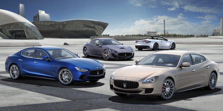 Maserati actualiza su gama con nuevos motores