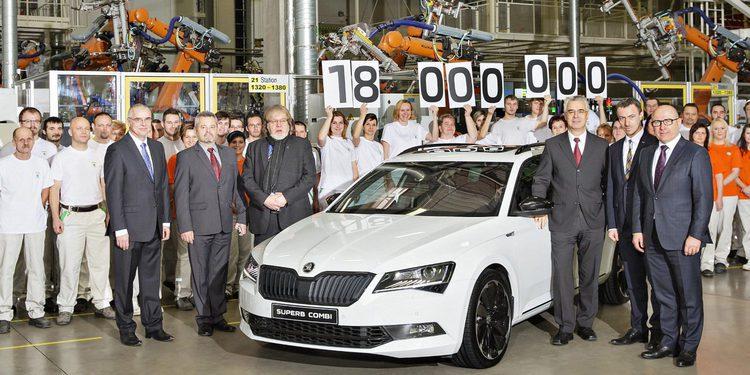 Skoda fabrica la unidad 18 Millones