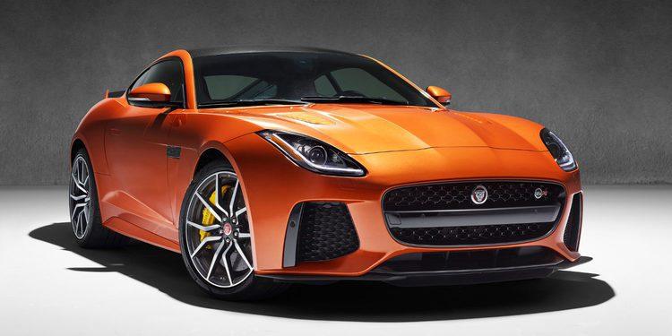 Jaguar hace oficial el F-Type SVR con 575 CV