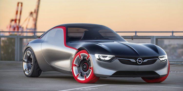 Opel GT Concept, un prototipo con tracción trasera y 150 CV