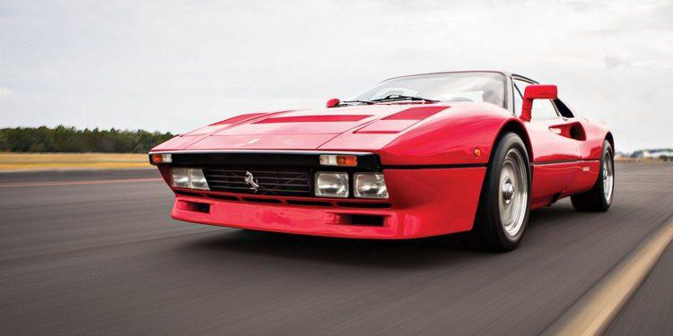 A subasta un Ferrari 288 GTO de 1985 sin apenas kilómetros