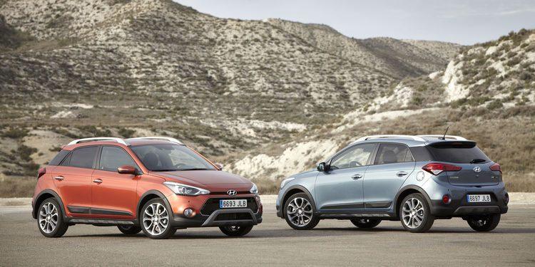 Hyundai pondrá pronto a la venta el i20 Active, el i20 más campero