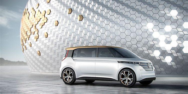 El Budd-e es un prototipo que anticipa un eléctrico de Volkswagen para 2020