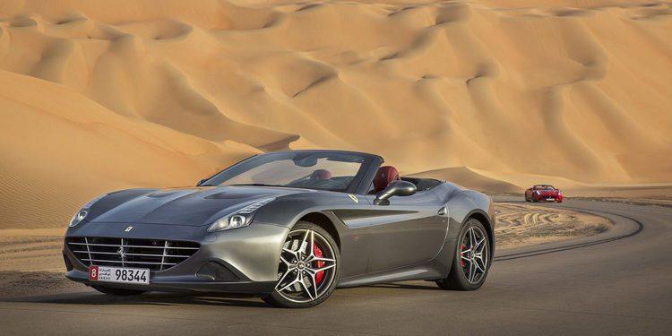Ferrari presenta el California T Deserto Rosso
