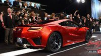 Se vende el primer Honda NSX por 1,2 millones de dólares