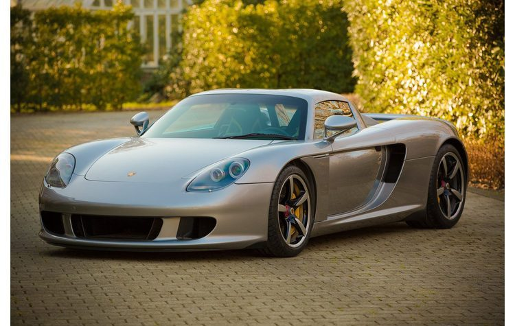 Un impresionante Porsche Carrera GT sale a subasta