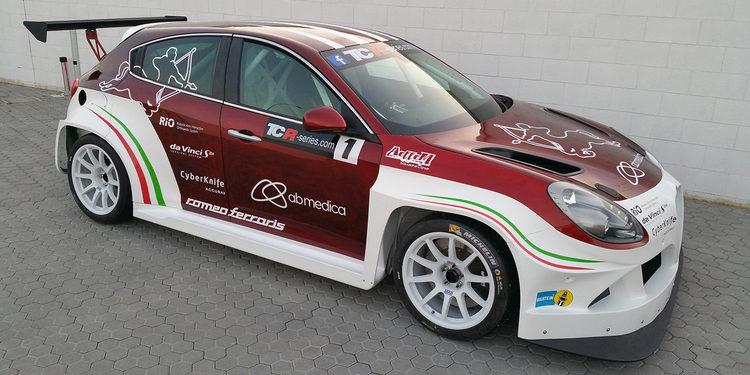El Alfa Romeo Giulietta TCR rueda en Mugello