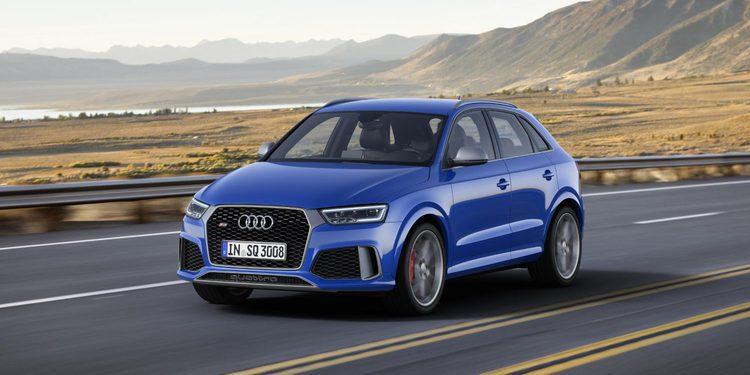 Audi lanza el RS Q3 Perfomance, 367 CV para el SUV compacto alemán