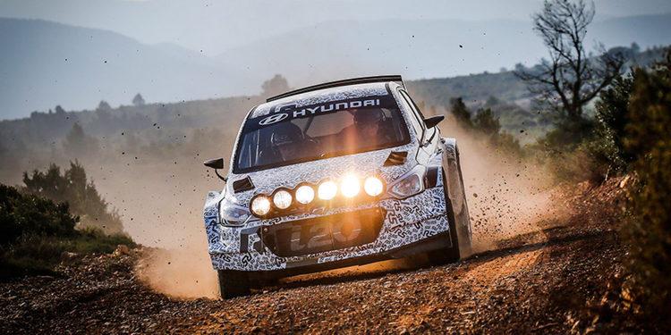 Arrancaron los test de Hyundai con el R5