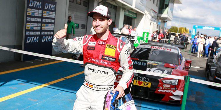 Miguel Molina quiere conseguir en 2016 más regularidad
