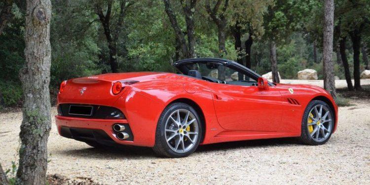 Un modesto Ferrari California de 2010 alcanza estratosférico precio en subasta