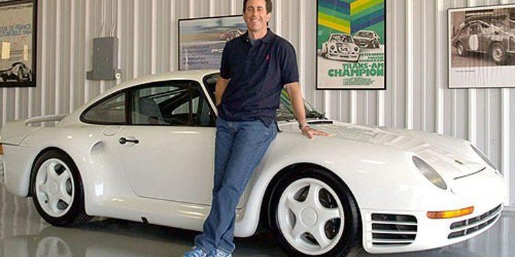 Jerry Seinfeld subasta impresionantes ejemplares de su colección Porsche privada