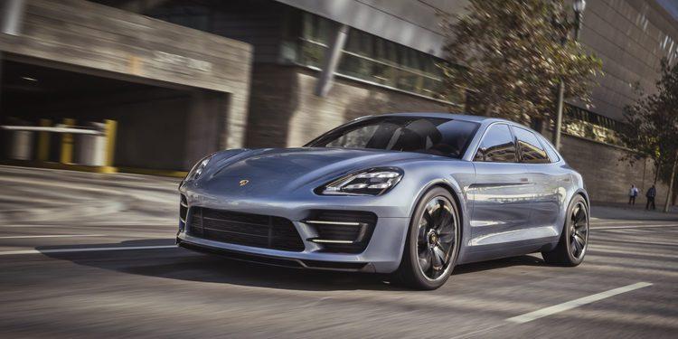 Porsche prepara la versión de producción del Panamera Shooting Brake