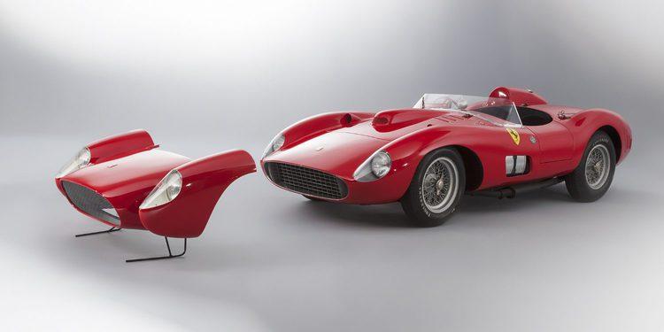 El Ferrari 335 S Spyder Scaglietti el segundo auto más caro de la historia, o no
