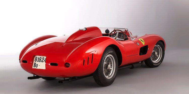 El cambio de divisas evita que el Ferrari 335 Sport sea el más caro del planeta