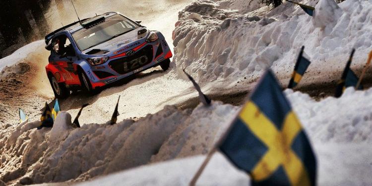 Se cancelan ocho tramos del Rally de Suecia
