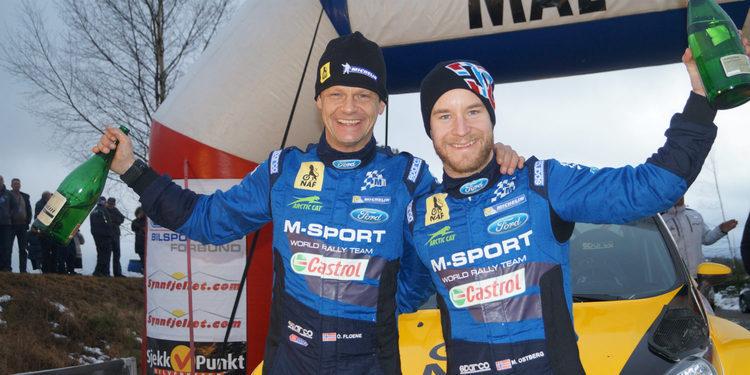 Ostberg gana el Rally Finnskog por quinta vez