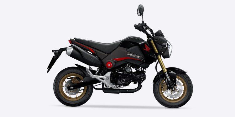 MOD DAM: una Honda MSX 125 Grom con el motor de 205 CV de la Panigale R