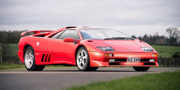 A subasta el último Lamborghini Diablo fabricado antes de la era Volkswagen
