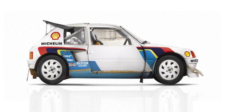 A subasta el Peugeot 205 Turbo 16 Evolution 1 ex Ari Vatanen de 1985