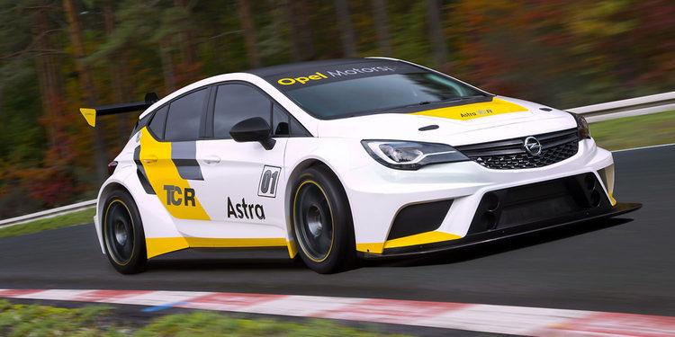 El Opel Astra TCR completa un amplio programa de pruebas