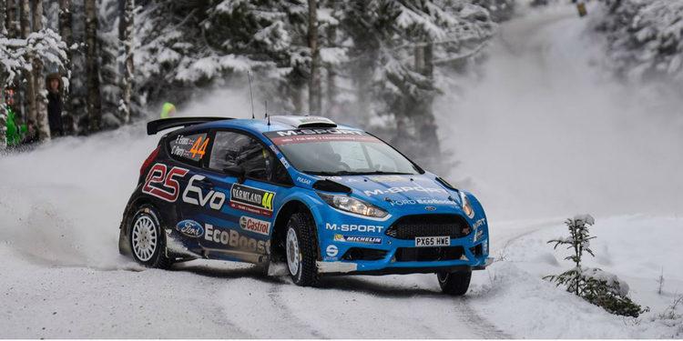 WRC 2 | Evans aplasta a los nórdicos