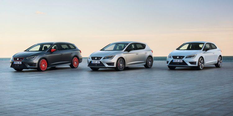 El SEAT León Cupra se actualiza en 2016 y aumenta su potencia hasta los 290 CV