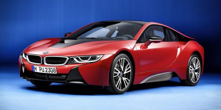BMW i8 Protonic Red Edition, una edición limitada del deportivo híbrido de la marca